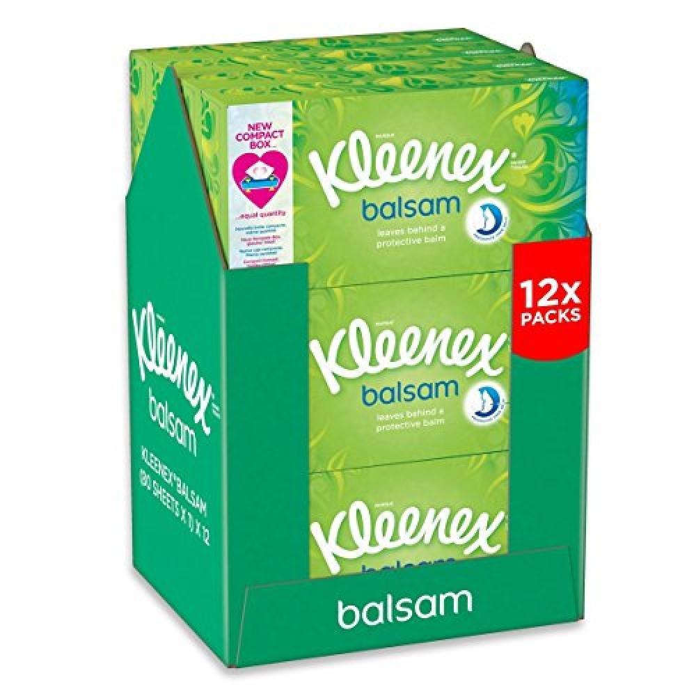 Kleenex Balsam Tissues 72 tissues