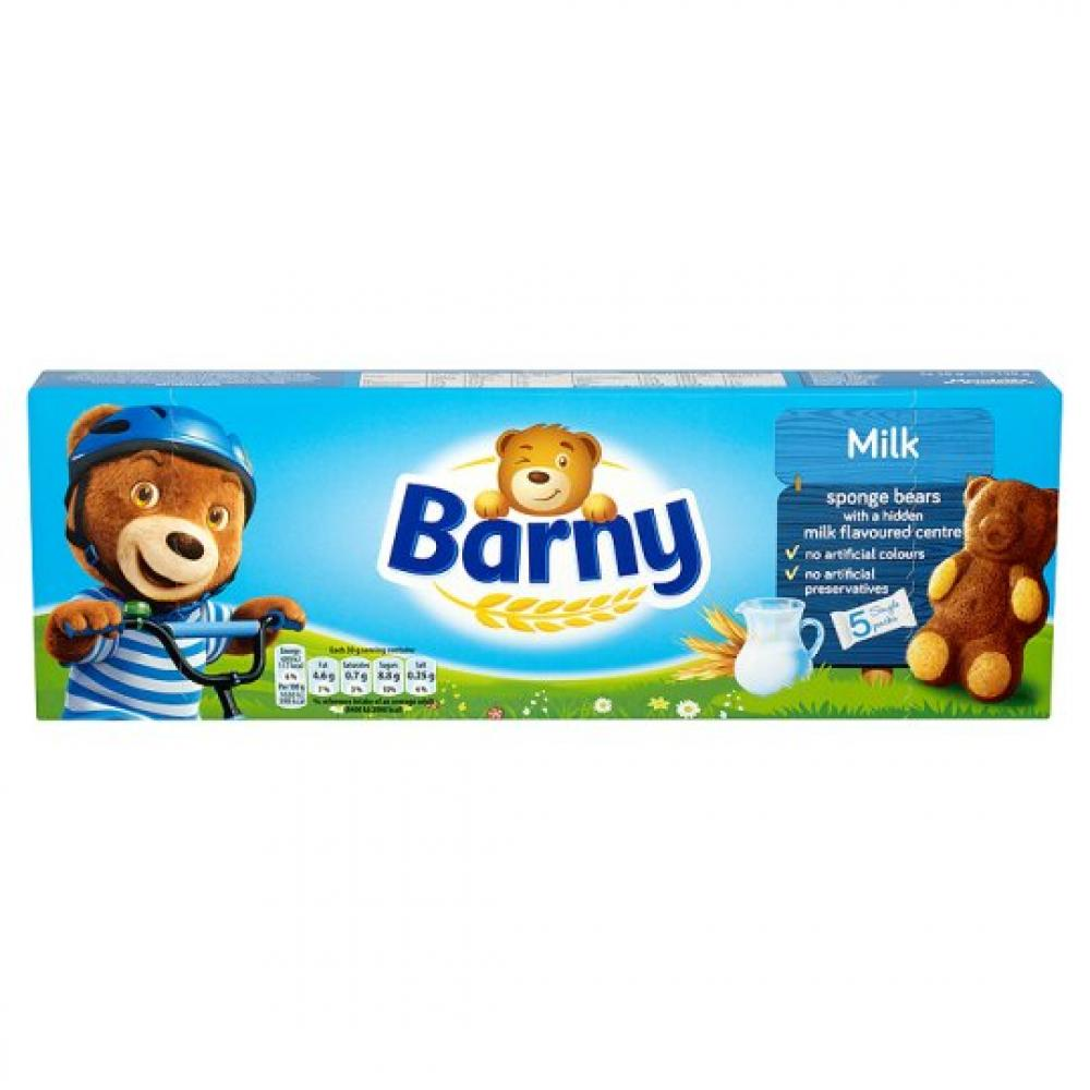 Barny Milk Sponge Bears 30g x 5