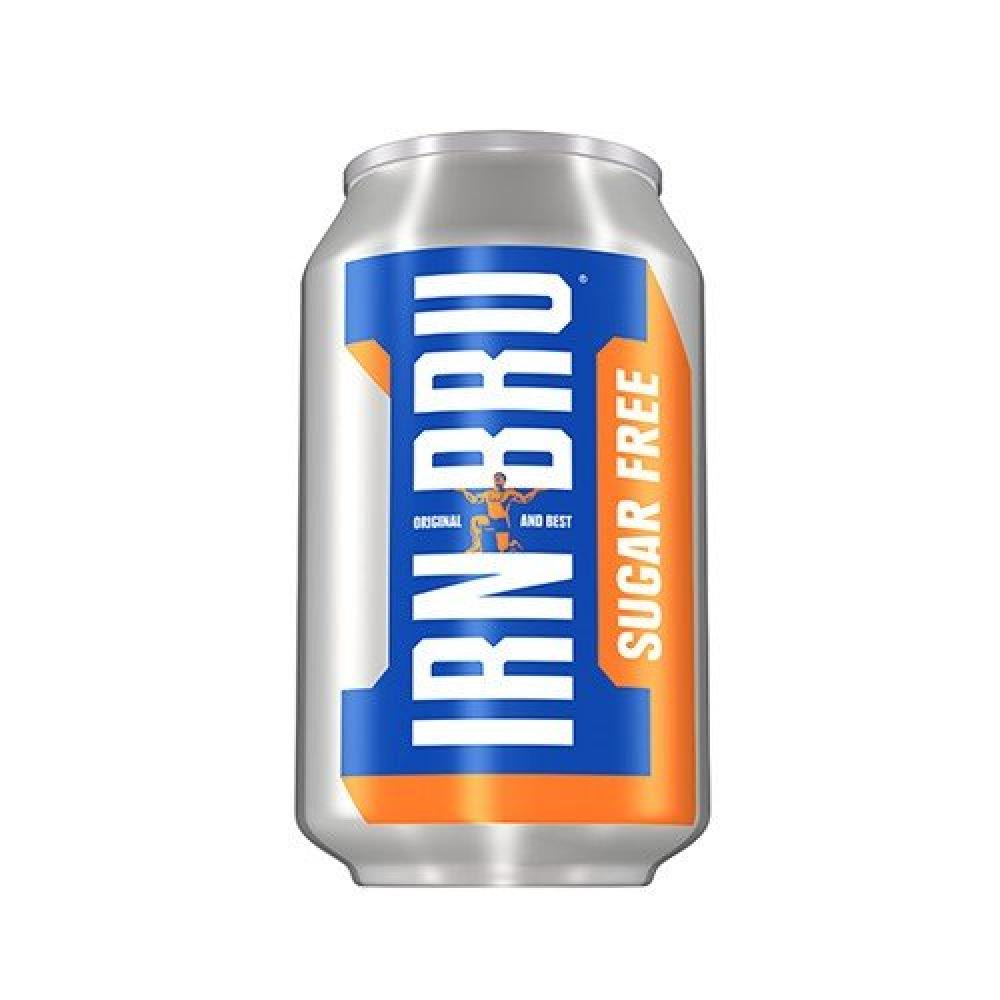 Barr Irn Bru Sugar Free 330ml