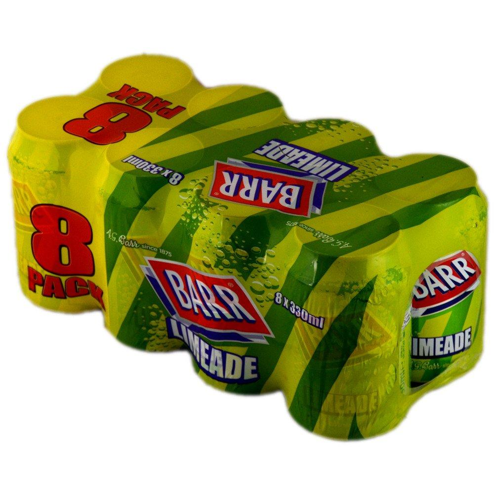 Barr Limeade 330ml x 8