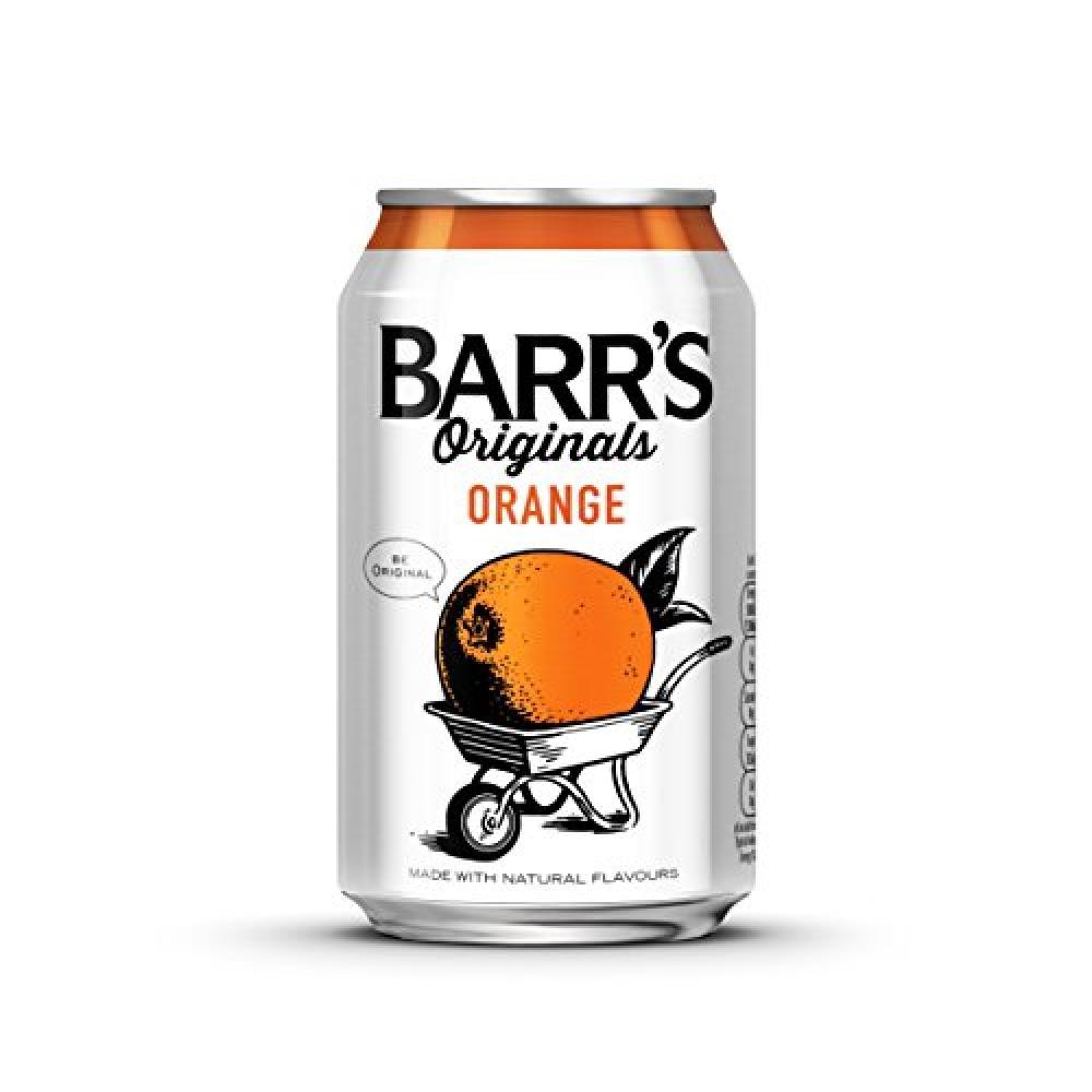 Barr Originals Orange Cans 330 ml