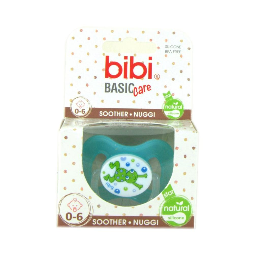 Bibi  Bibi Basic Care 0-6 month Soother Blue