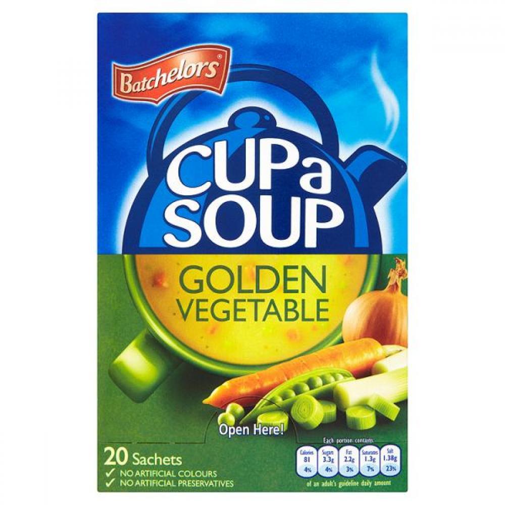 Batchelors Cup A Soup Golden Vegetable 380g 20 sachets