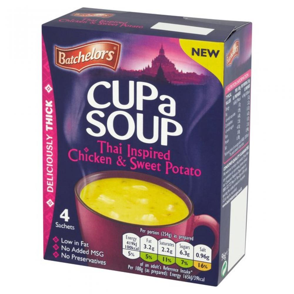 Batchelors Cup A Soup Thai Chicken and Sweet Potato 96g