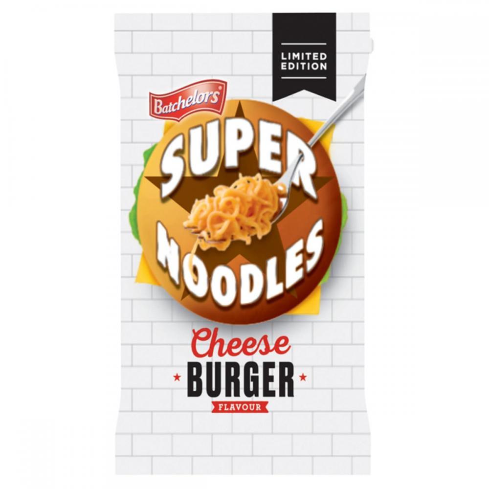 Batchelors Super Noodles Cheeseburger Flavour 100g