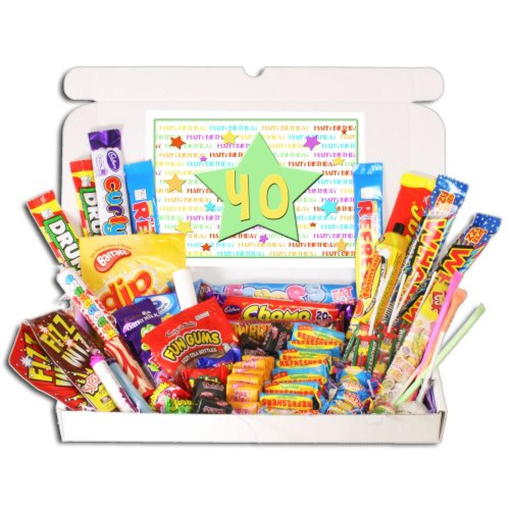 Bay Sweets 40th Birthday Sweets Gift Box