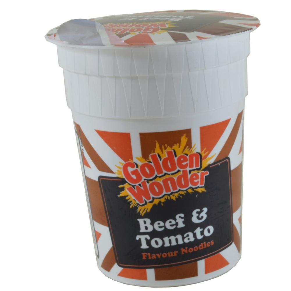 CLEARANCE  Golden Wonder Beef And Tomato Flavour Noodles 90g