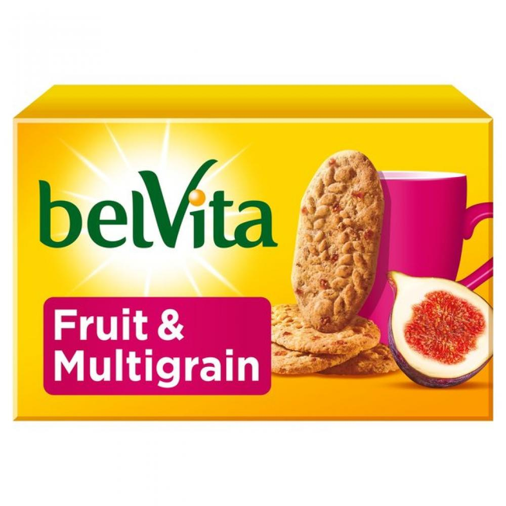 Belvita Breakfast Fruit And Multigrain Biscuits 4 pack x 5