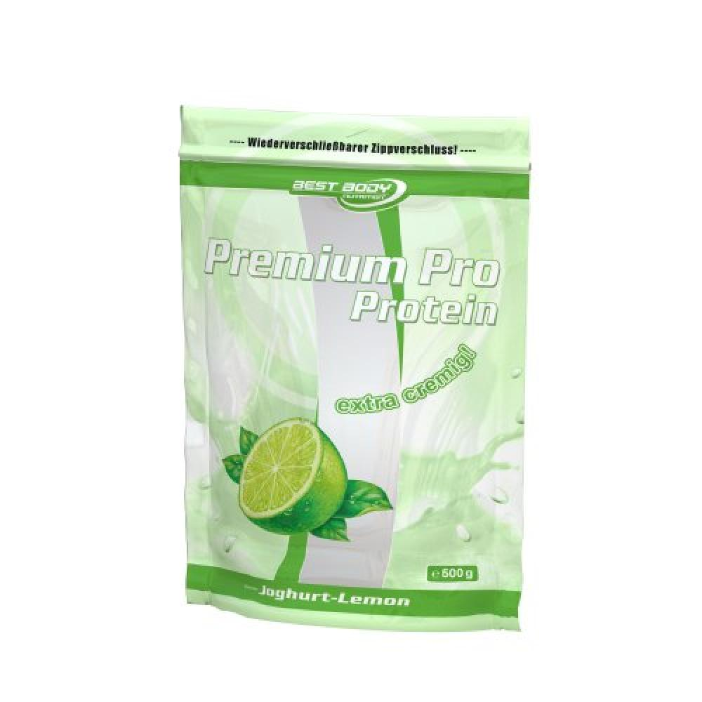 Best Body Nutrition Premium Pro Protein Yoghurt Lemon 500g