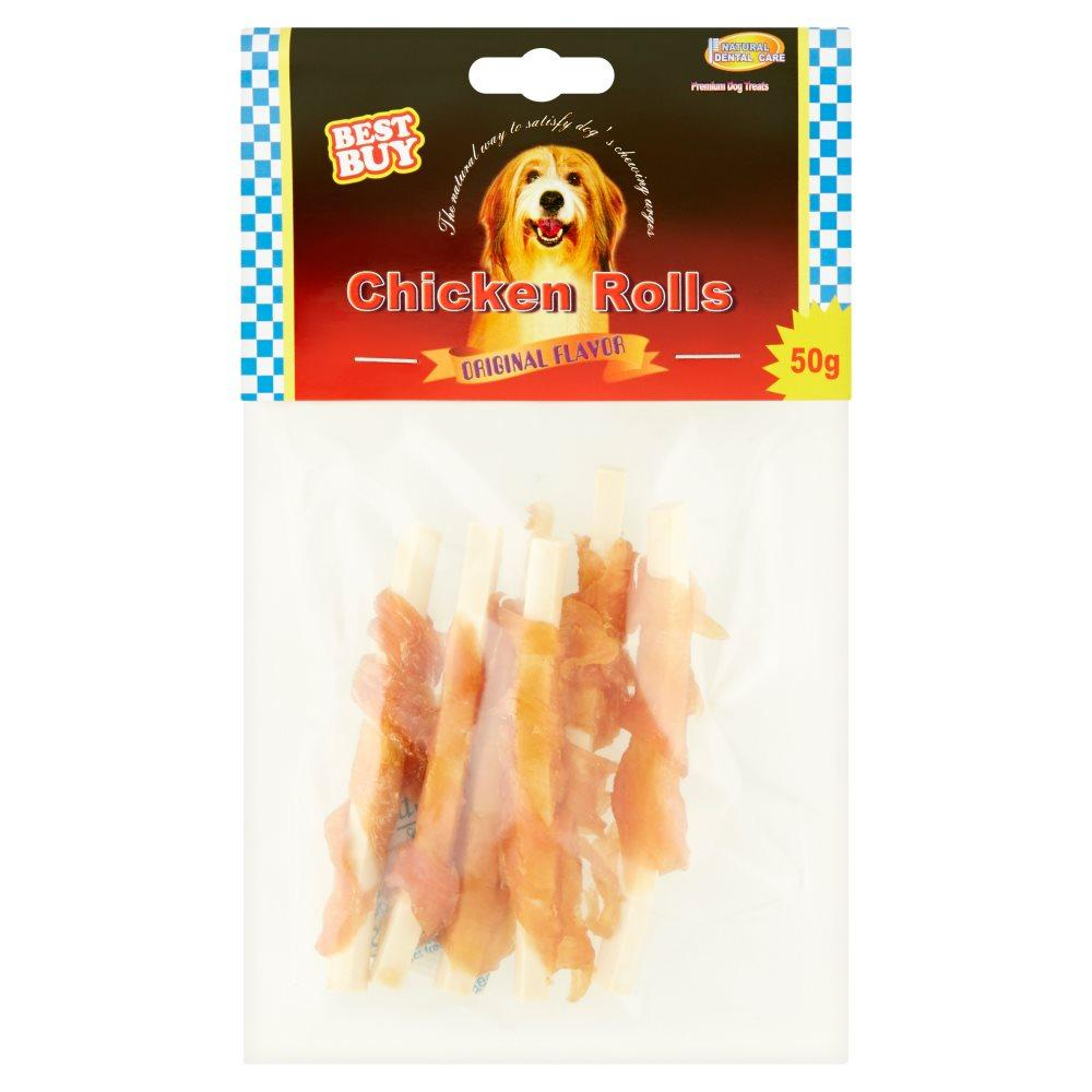 Best Buy Chicken Rolls 50g