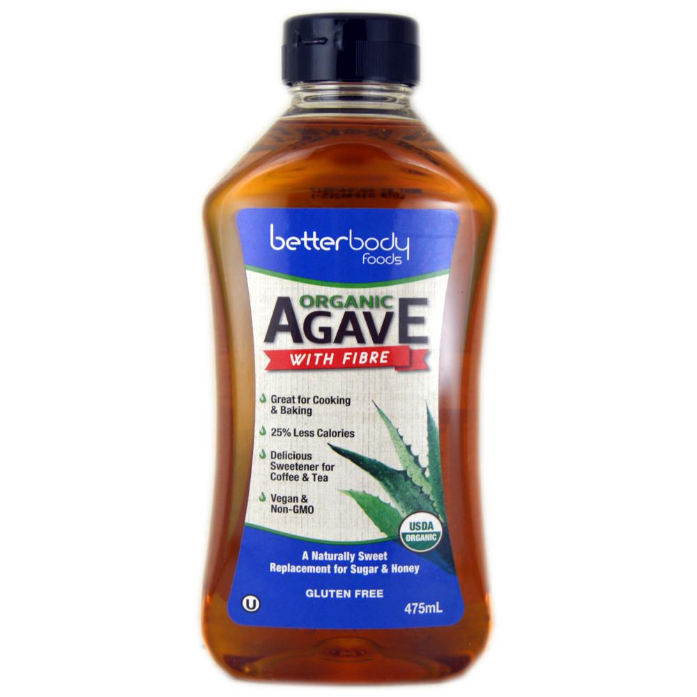 BetterBody Organic Agave 475ml