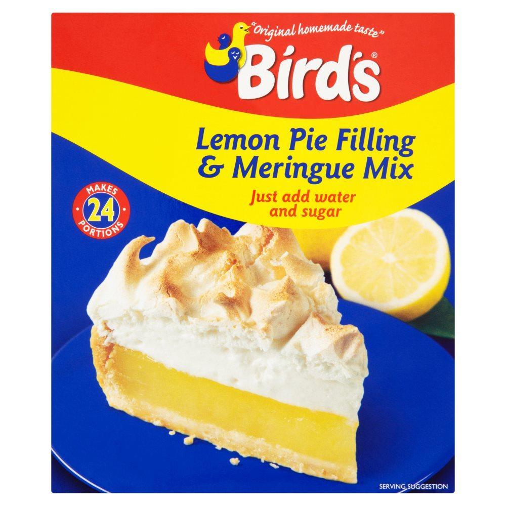 Birds Lemon Pie Filling and Meringue Mix 440g