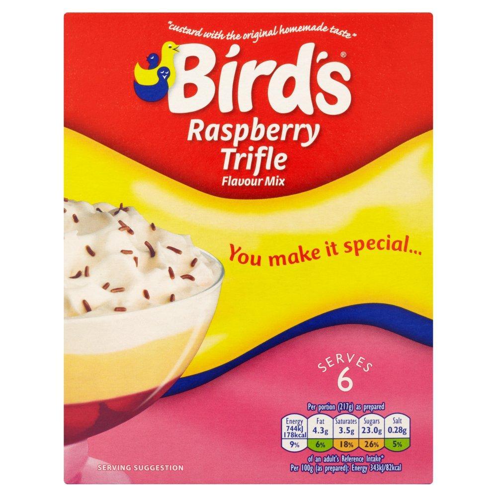 Birds Raspberry Trifle Flavour Mix 144g