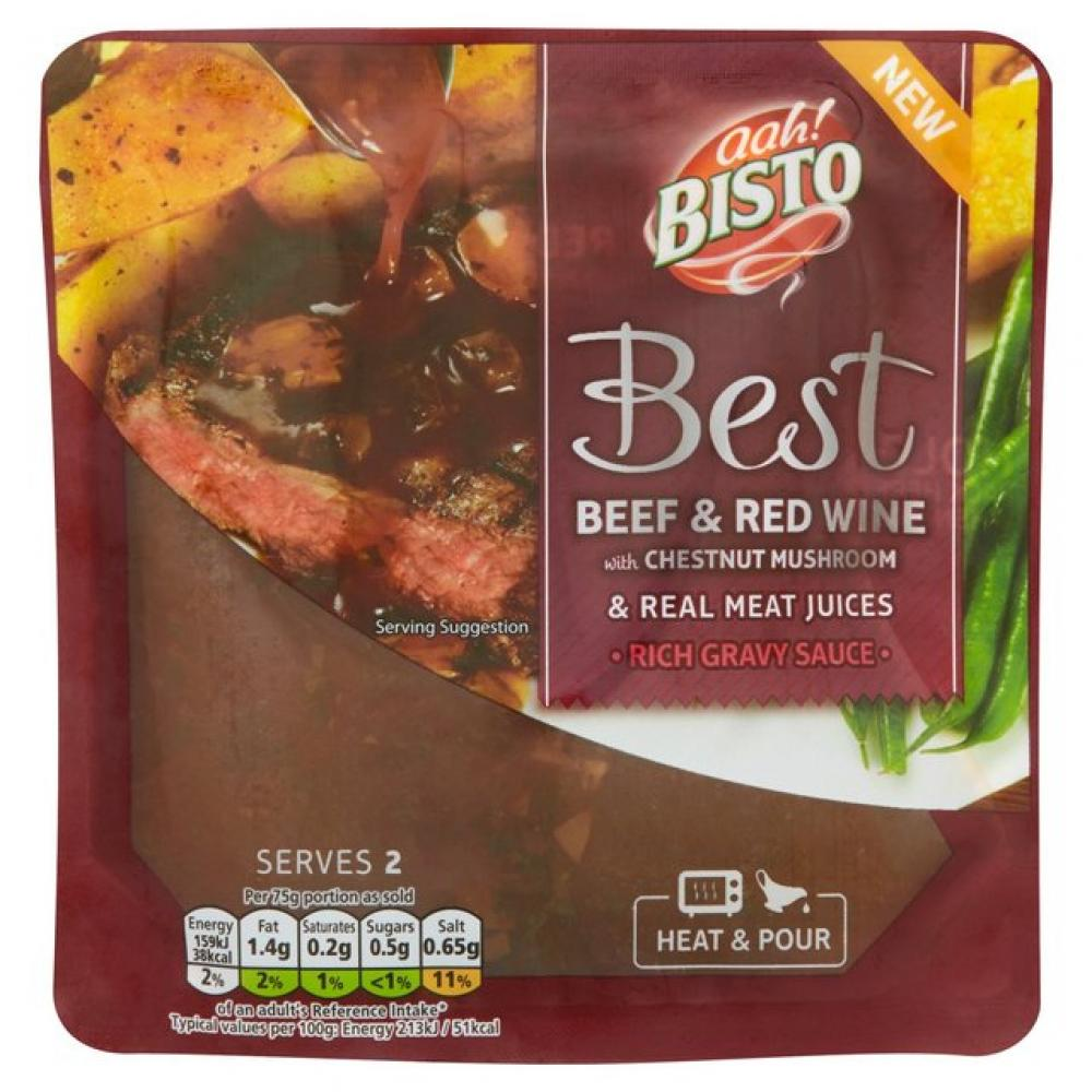 Bisto Best Beef with Red Wine and Mushroom 150g