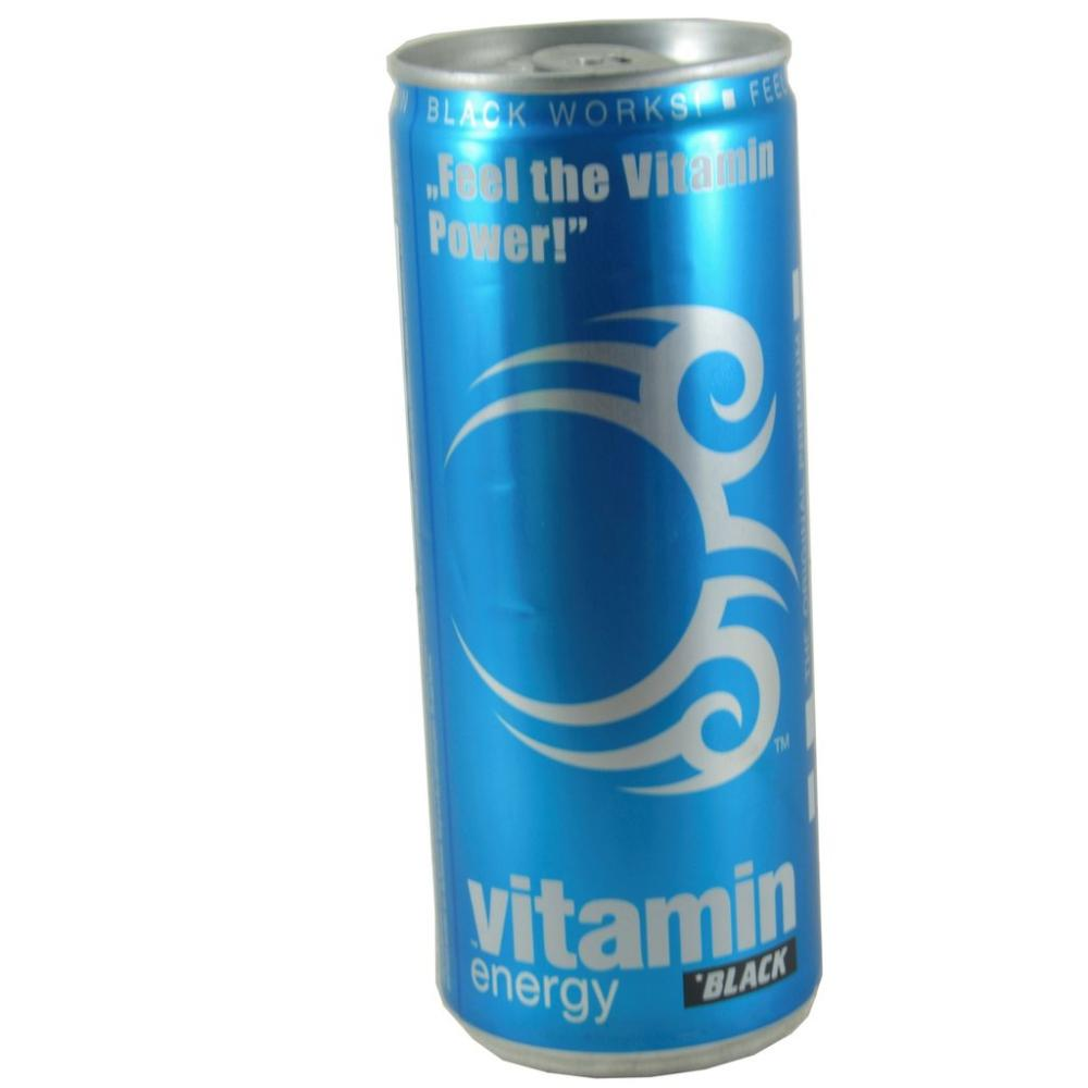 Black Energy Vitamin Blueberry Drink 250ml