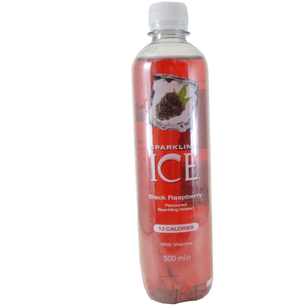 Sparkling Ice Black Raspberry Sparkling Water 500ml