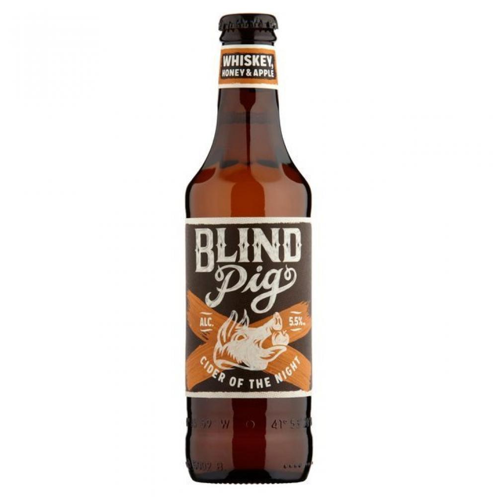 Blind Pig WhiskeyHoney and Apple Cider 355ml