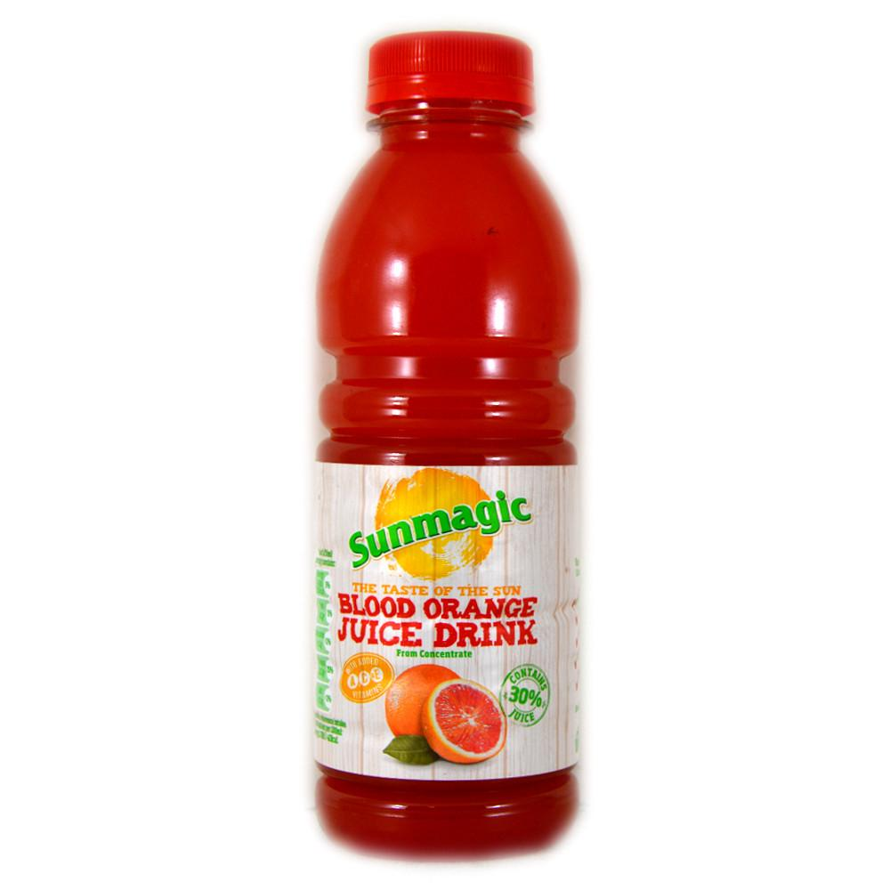 Sunmagic Blood Orange Juice Drink 500ml
