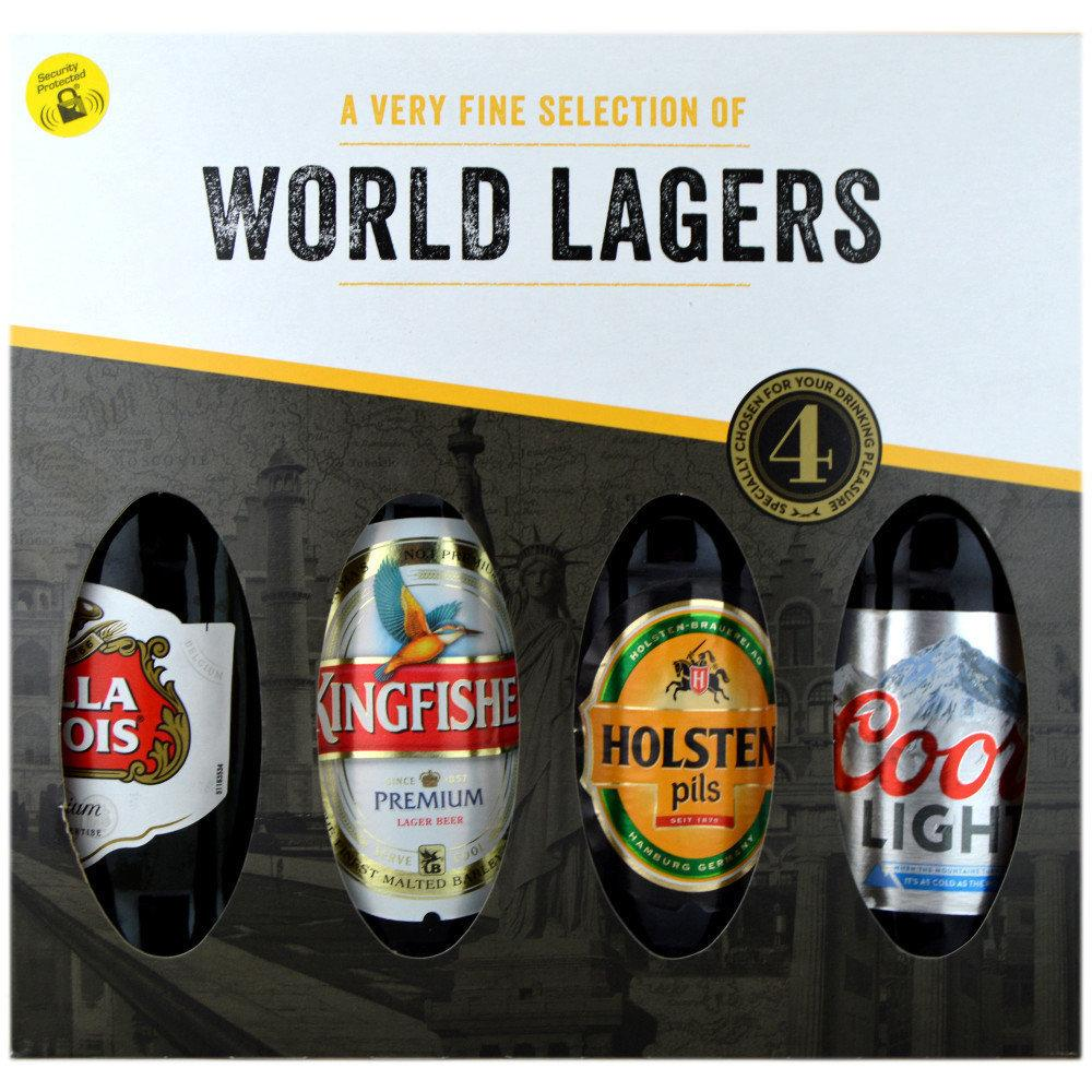 Blue Tree World lagers 4 pack