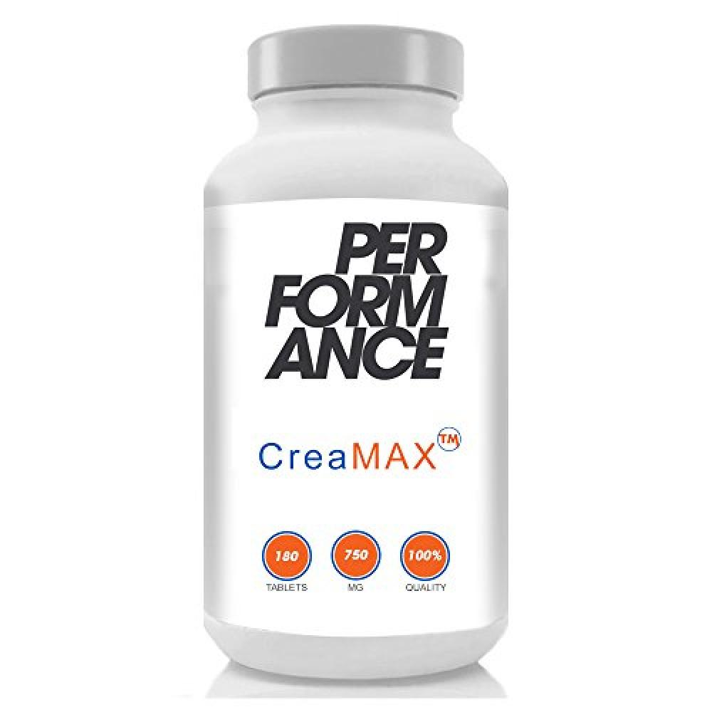 Bodybuilding Warehouse Performance Creamax Time Release Creatine Monohydrate Capsules