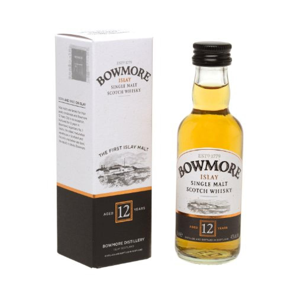 Bowmore Islay Single Malt Scotch Whisky Miniature 5cl