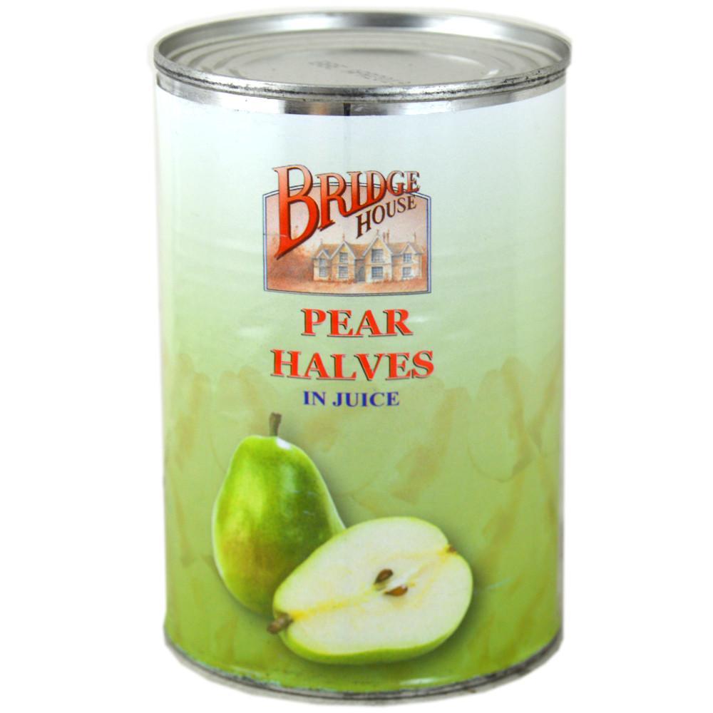 Bridge House Pear Halves In Syrup 411g