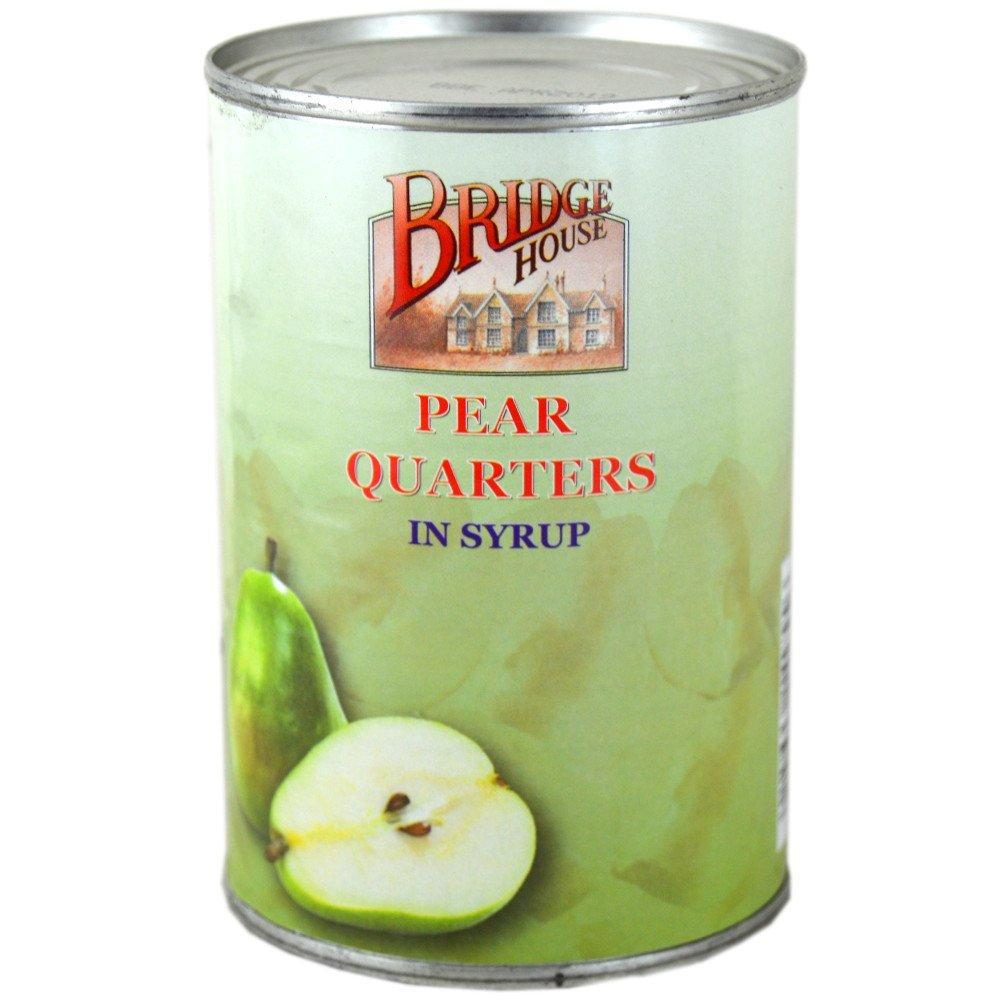 Bridge House Pear Quarters in Syrup 411g