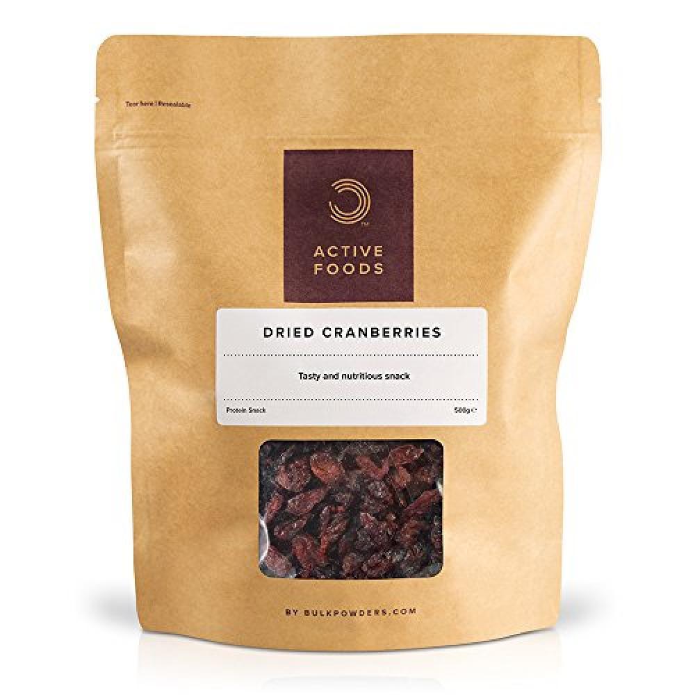 Bulk Powders Dried Cranberries 500 g