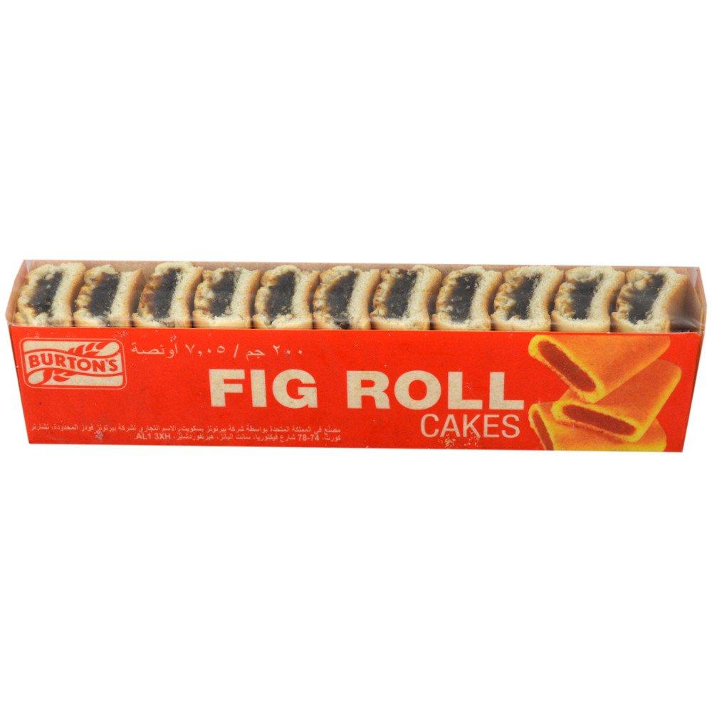 Burtons Fig Roll Cakes 200g