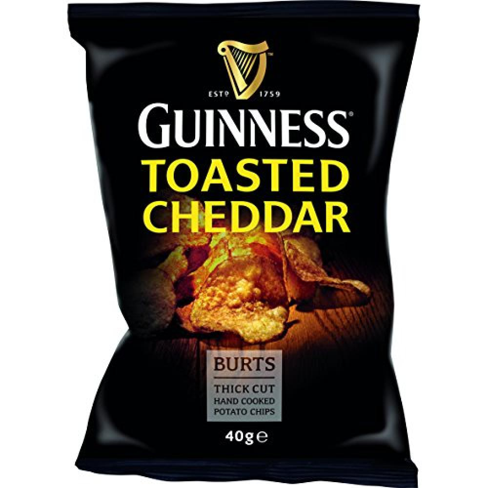 Burts Guinness Toasted Cheddar Chips 40 g
