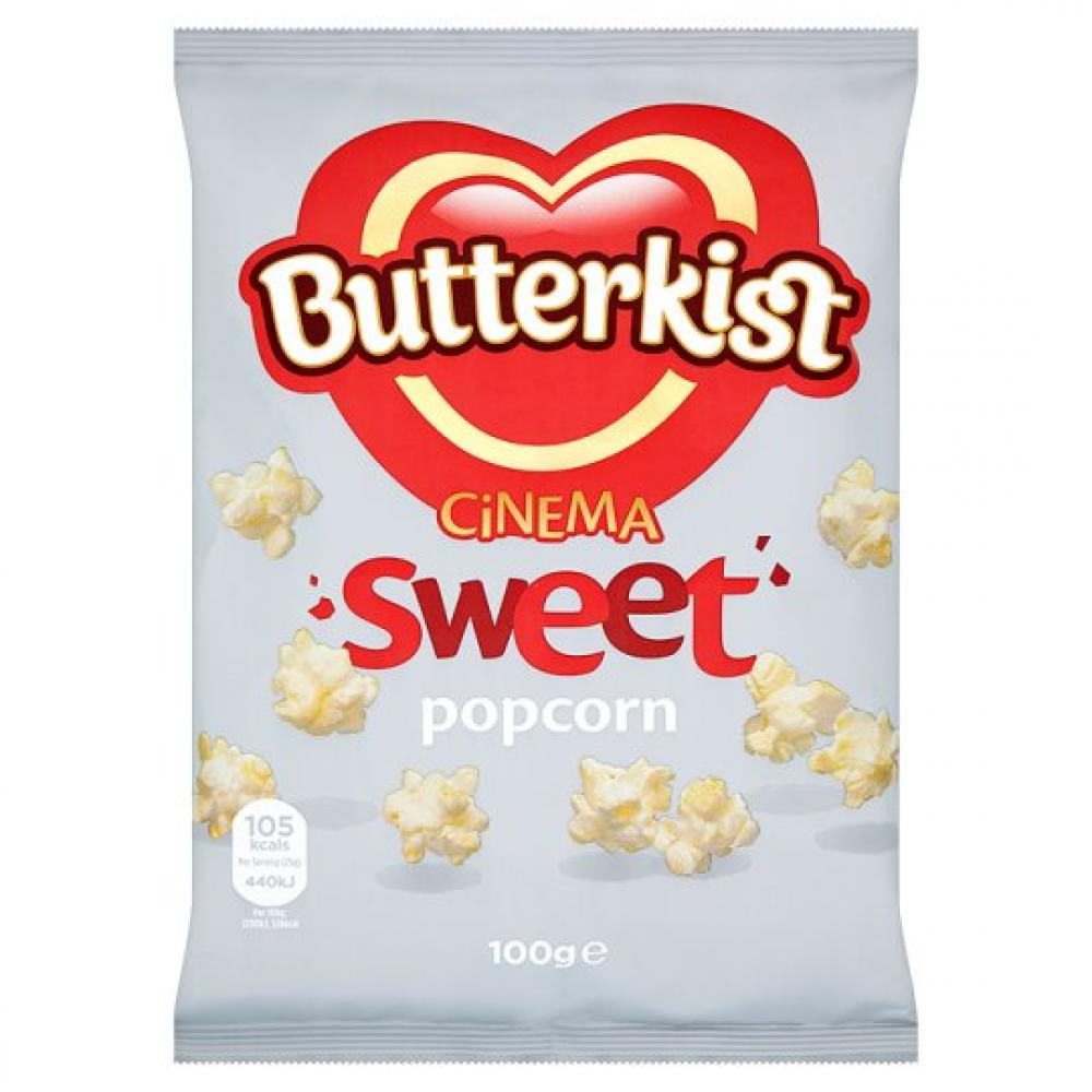 Butterkist Cinema Sweet Popcorn 100g