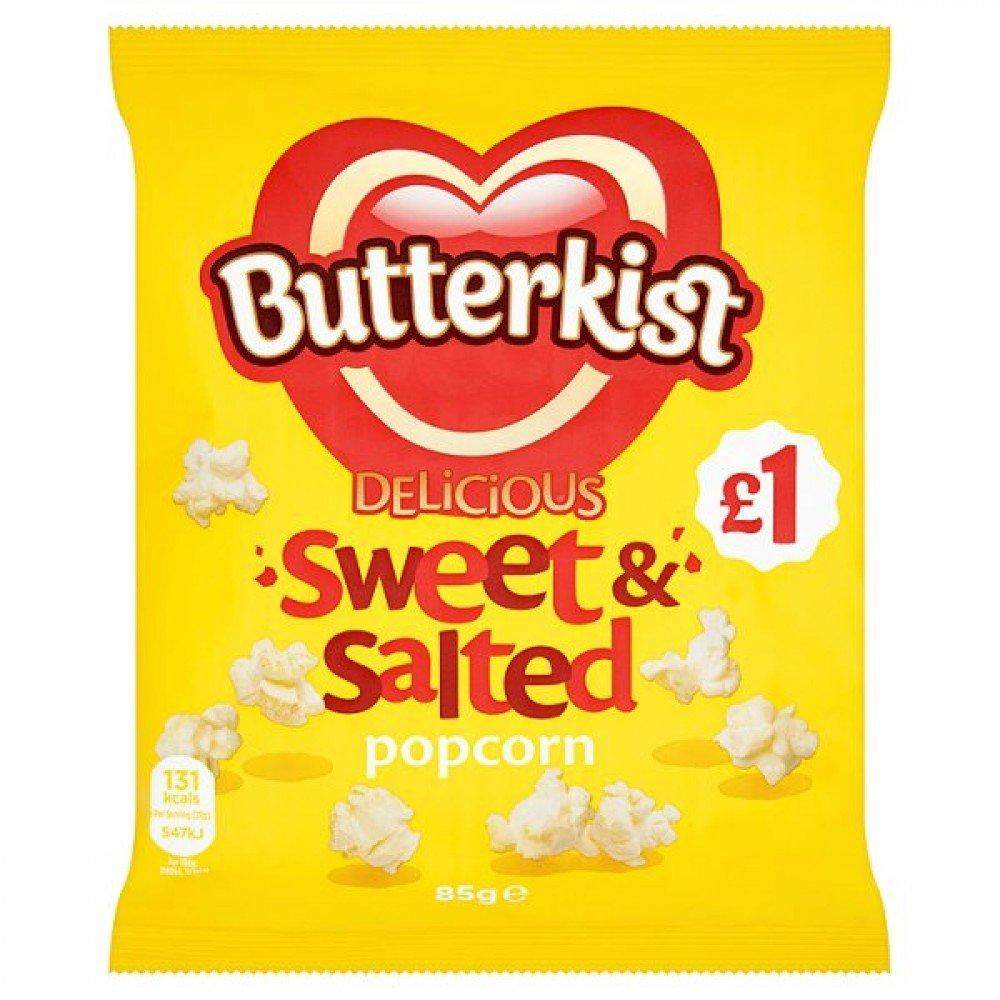 Butterkist Sweet and Salted Popcorn 85g