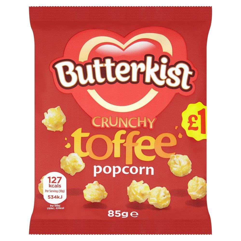 Butterkist Toffee Crunchy Popcorn 85g