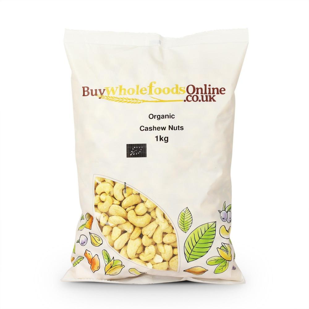 Buy Whole Foods Organic Cashew Nuts 1kg