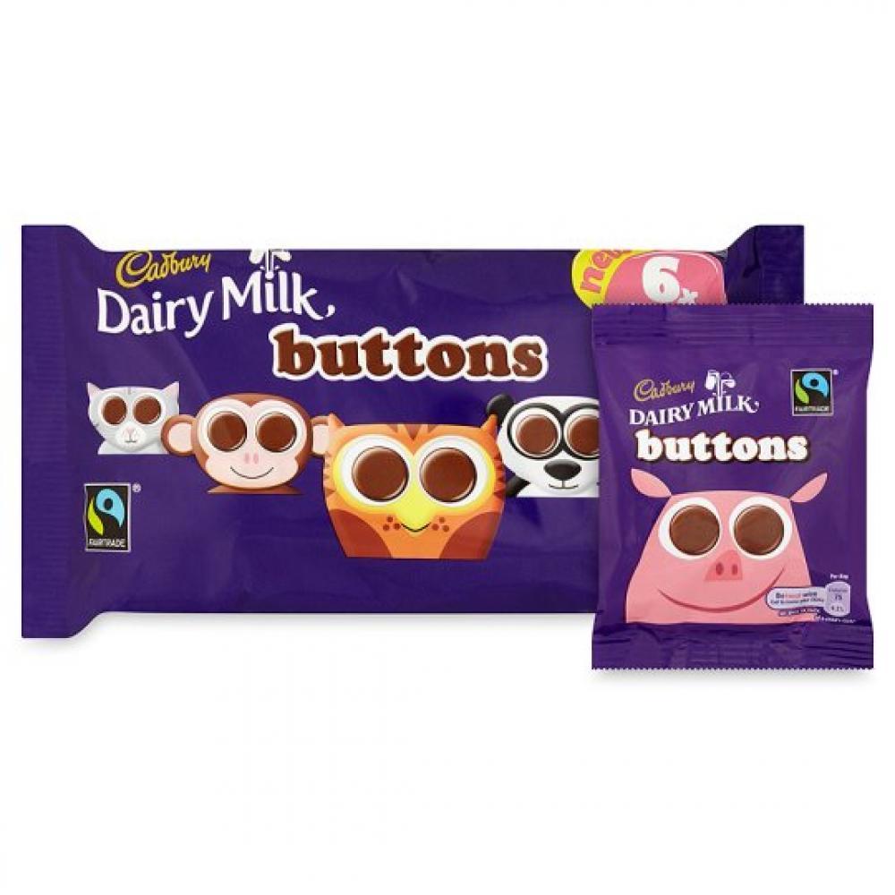 Cadbury Dairy Milk Buttons 84g