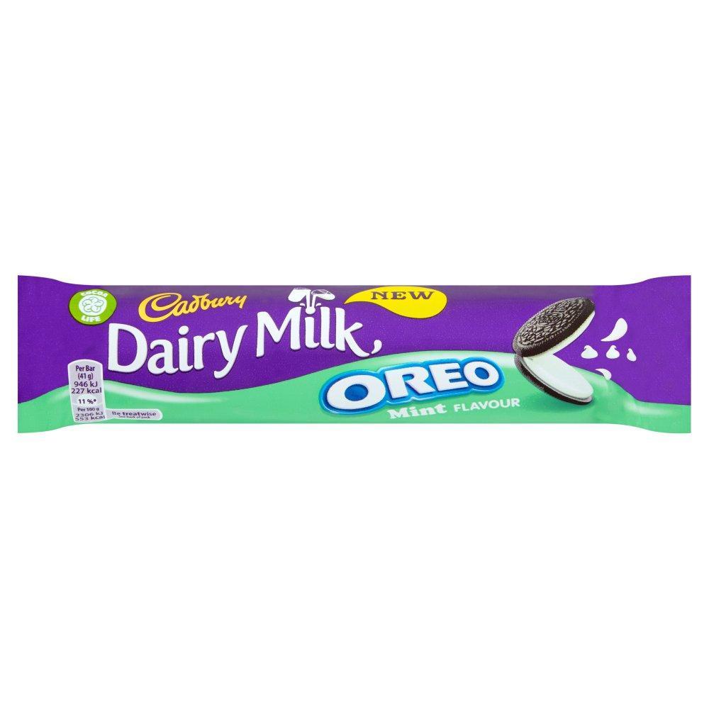 Cadbury Dairy Milk Oreo Mint 41g