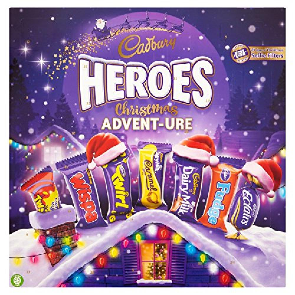 Cadbury Heroes Christmas Adventure Chocolate Advent Calendar 232g