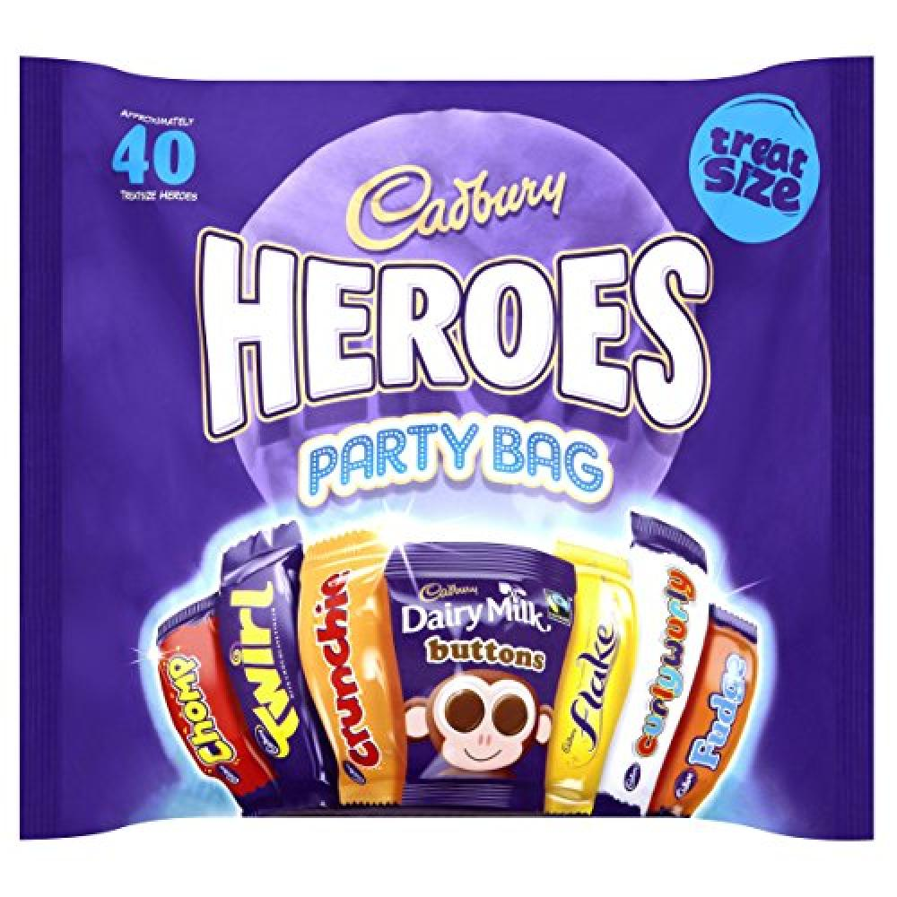Cadbury Heroes Party Bag 567g