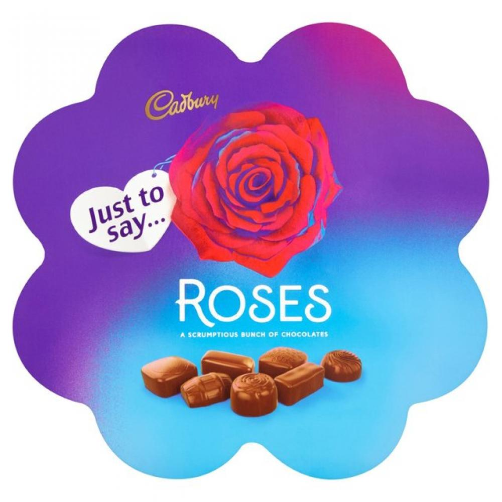 Cadbury Roses Flower Box Chocolates 275g