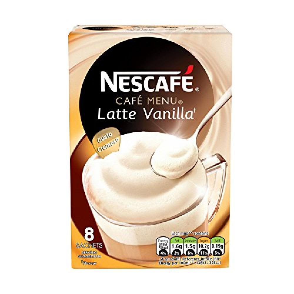 Nescafe Gold Vanilla Latte 8 Sachets x 185 g