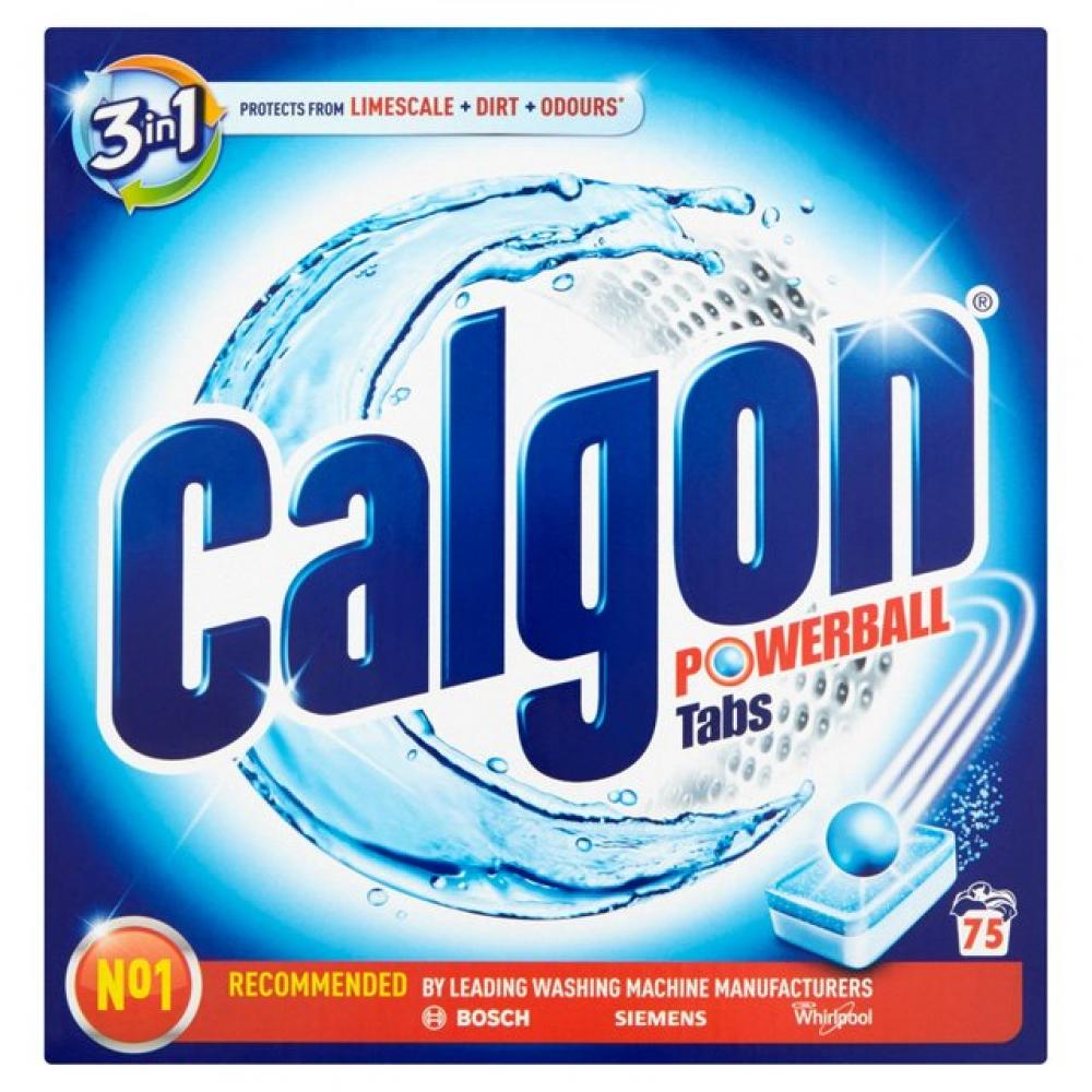 Calgon 3 in 1 Powerball 75 Tabs 975g