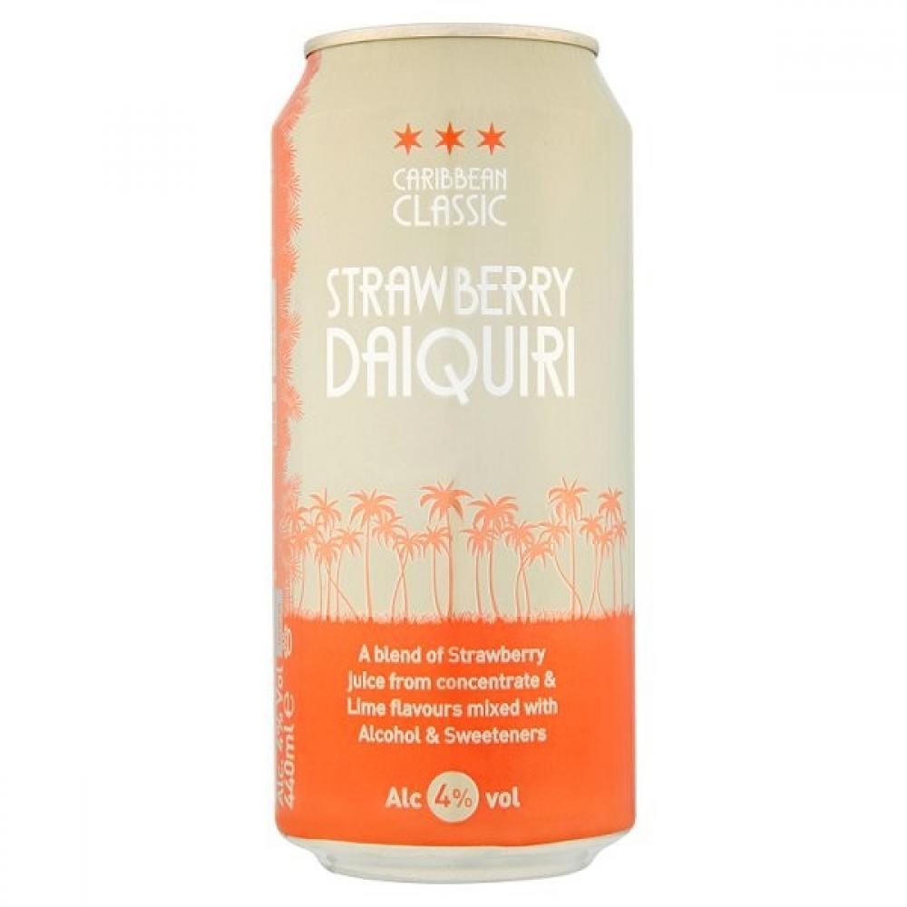 Caribbean Classic Strawberry Daiquiri 440ml