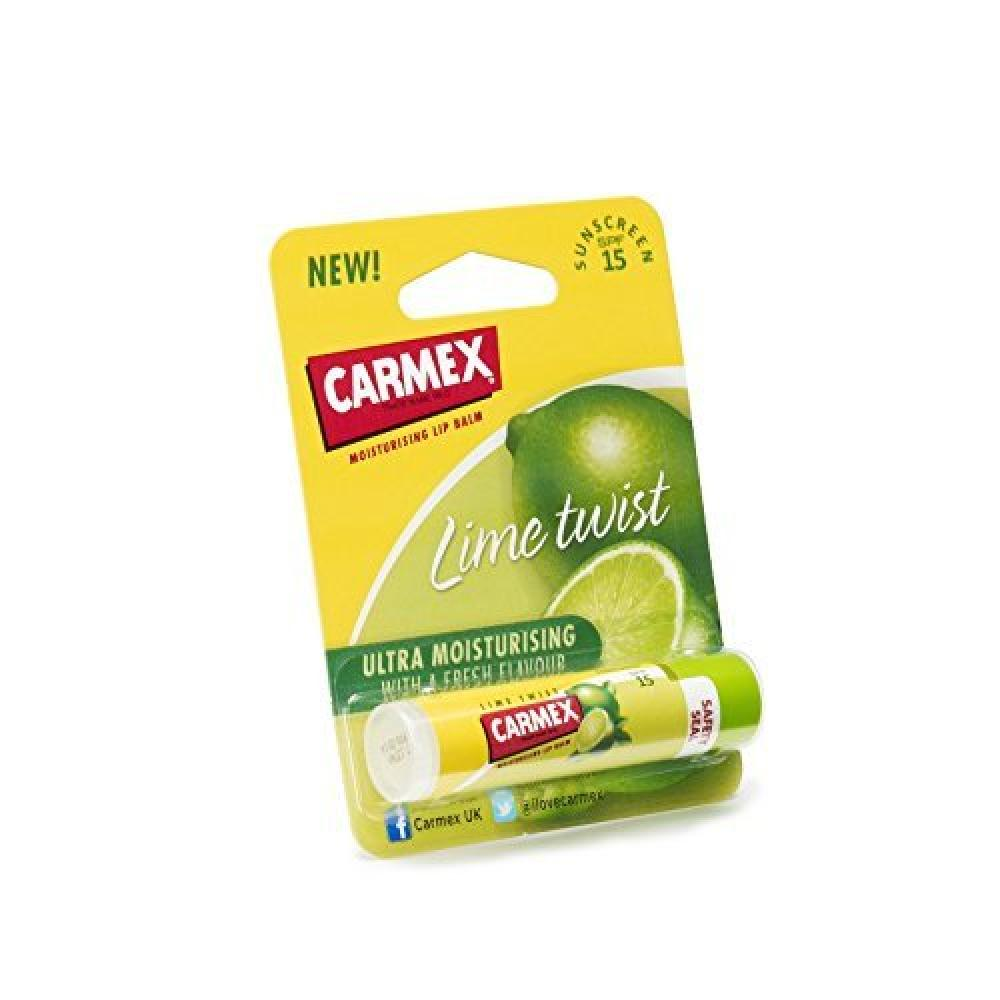 Carmex Lime Click stick duo pack