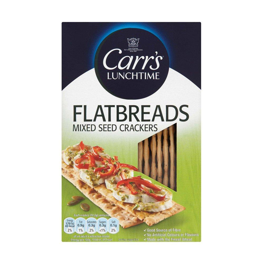 Carrs Flatbreads Mixed Seed Crackers 150g
