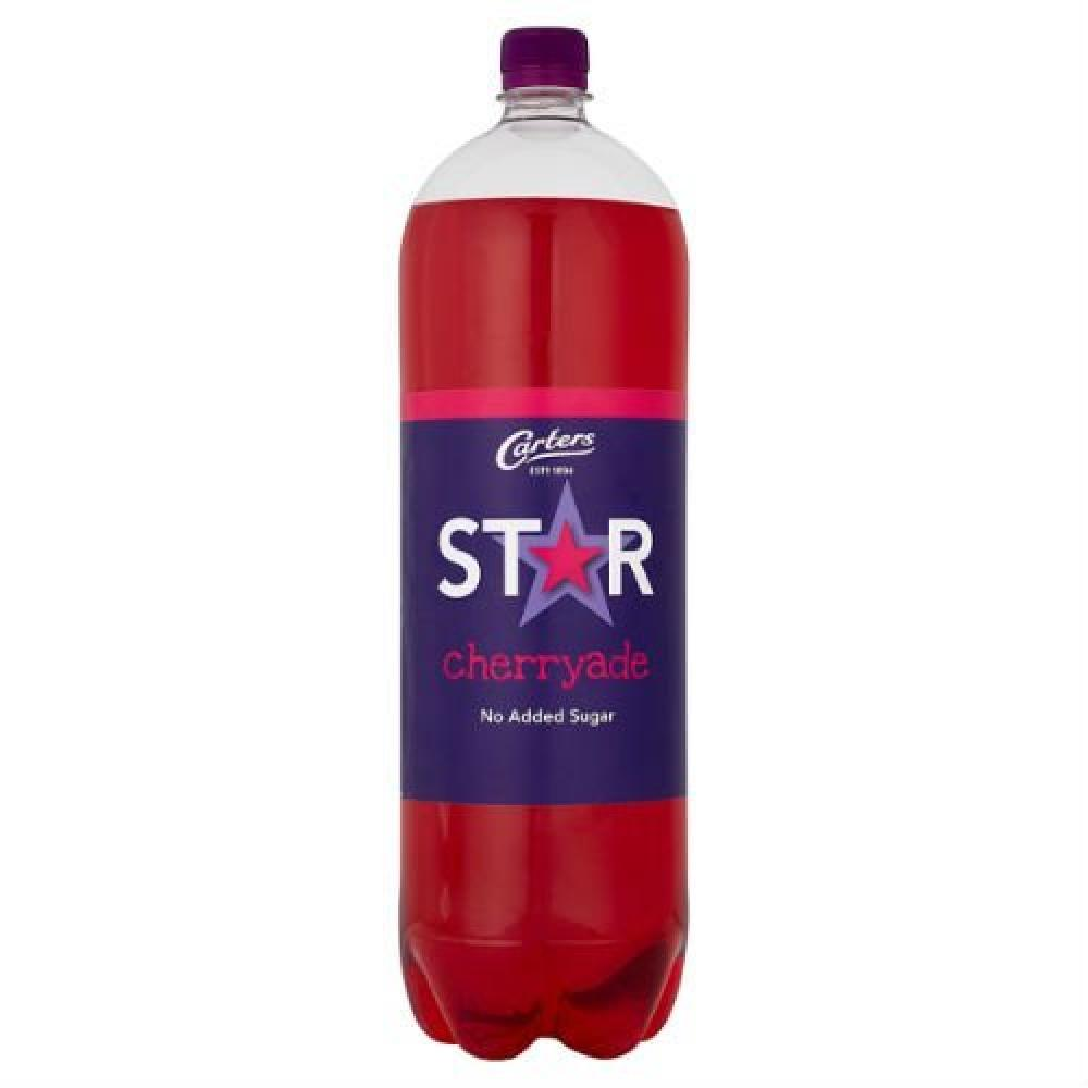 Carters Star Cherryade 2 Litre