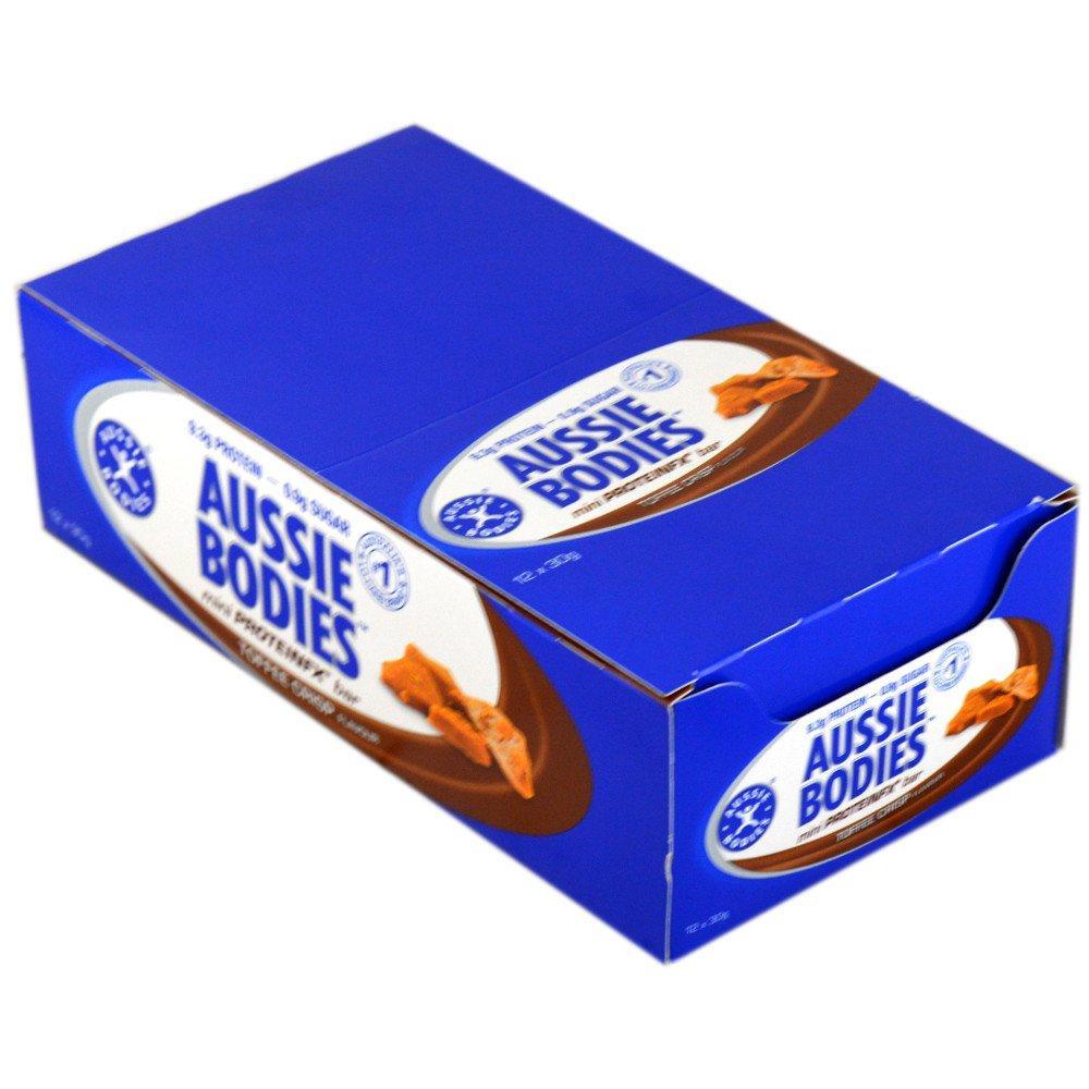 CASE PRICE  Aussie Bodies Mini ProteinFX Bar Toffee Crisp 30g x 12