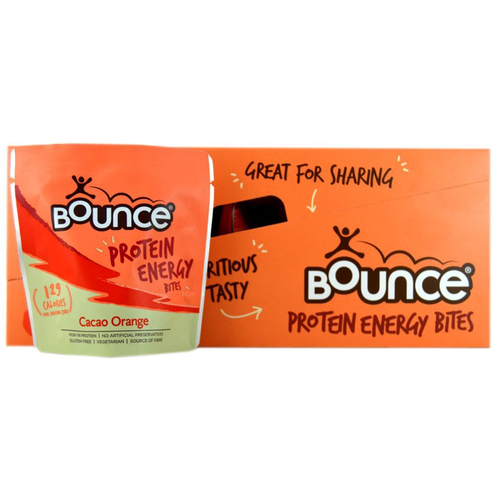 CASE PRICE  Bounce Cacao Orange Protein Energy Bites 30g x 10