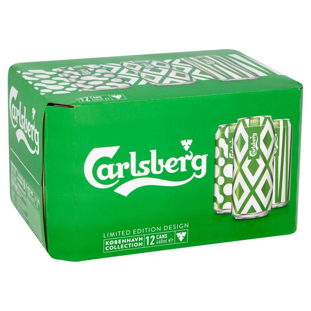 Carlsberg Lager 440ml x 12