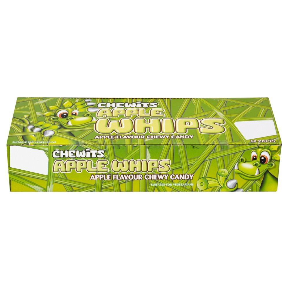 CASE PRICE  Chewits Apple Whips 60 pack
