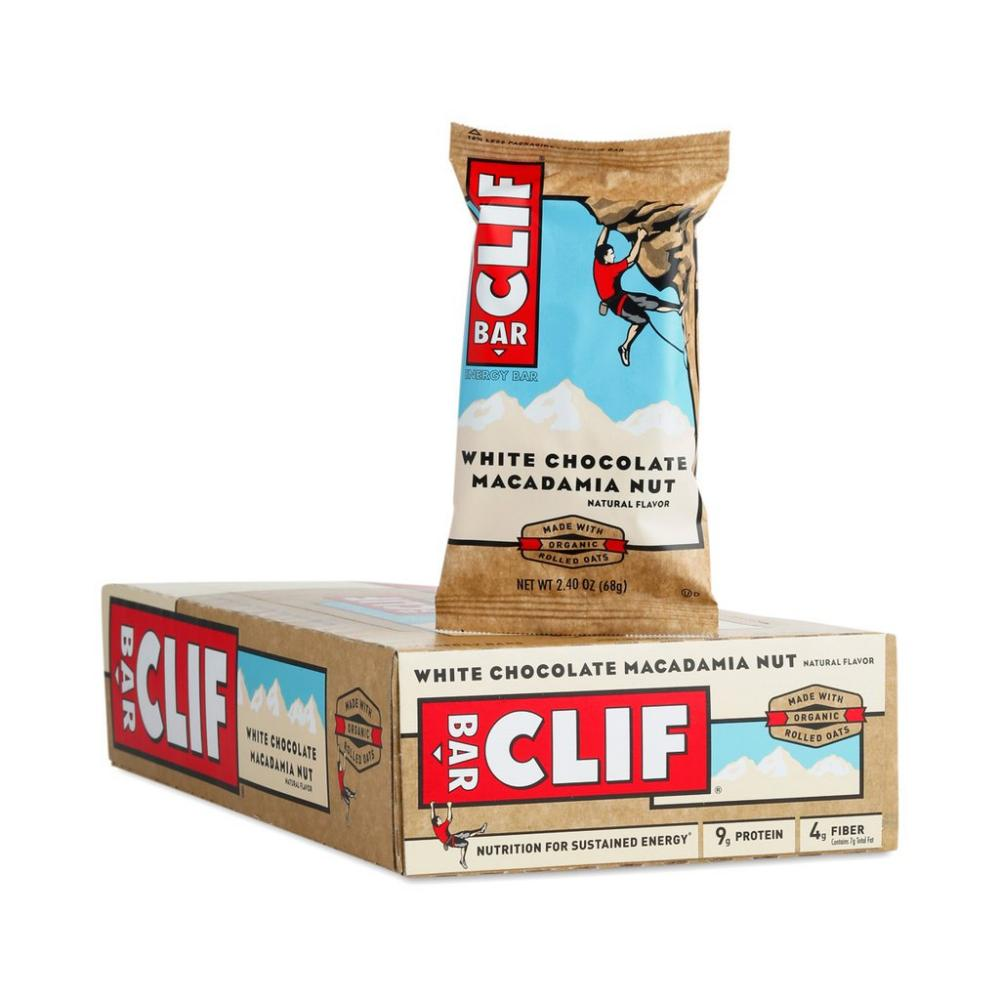CASE PRICE  Clif Bar White Chocolate Macadamia Nut 68g x 12